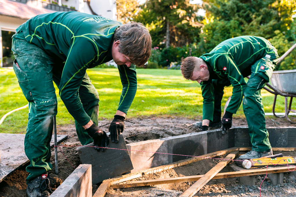 Bautechnik Gartenbau
